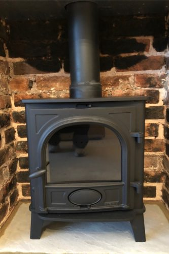 Wood burning stove brick opening 2 Sussex stove and maintenance